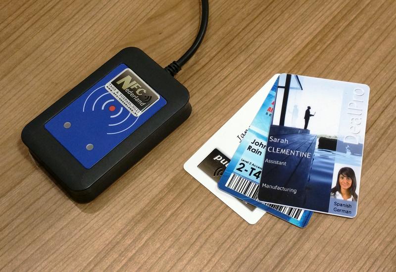 NFC-Reader 3 kaarten